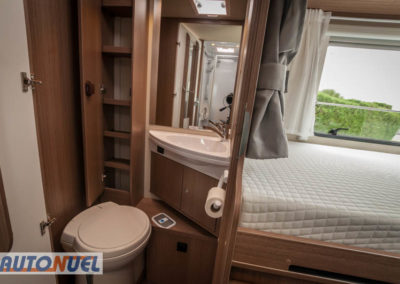 Alquiler de autocaravanas en Tarragona, Autocaravanas Auto Nuel; perfilada camas individuales