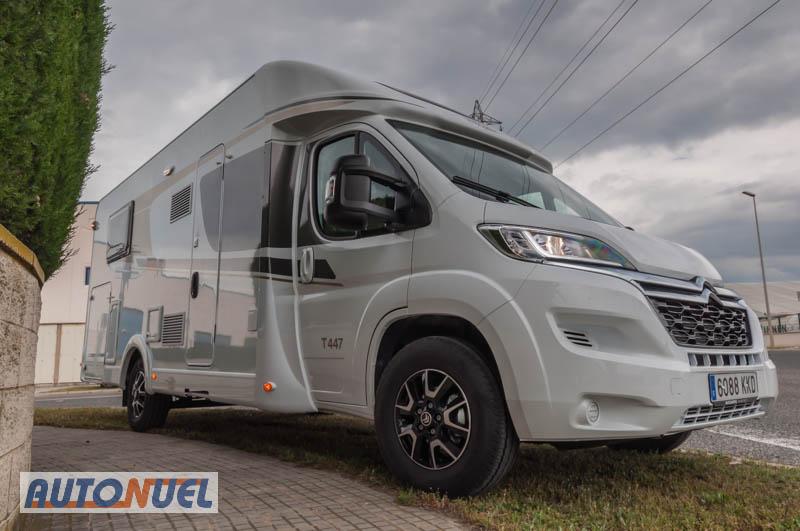 Autocaravanas Auto Nuel en Tarragona: autocaravana perfilada camas individuales