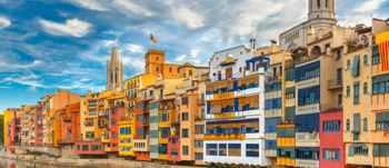 Casas de colores de Girona