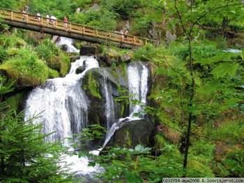 Cascadas de Triberg. Selva Negra. Alemania