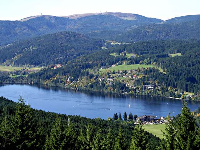 Lago Titisee. Selva Negra. Alemania