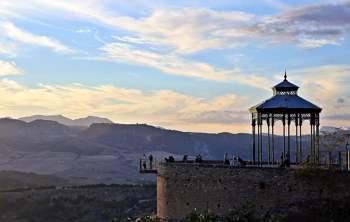 Mirador del Coño. Ronda. Málaga. Foto de Lourdes Sánchez