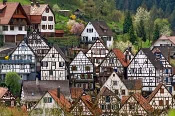 Schiltach. Selva Negra. Alemania