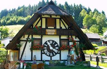 Triberg. Reloj Schonach. Selva Negra. Alemania