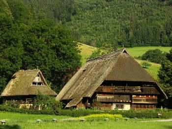 Vogtsbauernhof. Selva Negra. Alemania