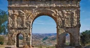 Medinaceli. Arco romano