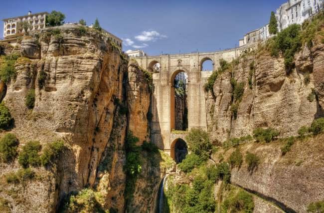 Puente Nuevo de Ronda. Málaga