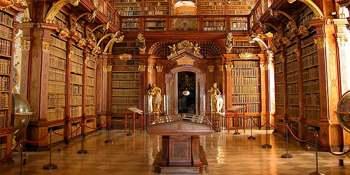 Biblioteca de la Abadía de Melk. Austria
