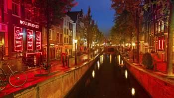 Barrio Rojo. Amsterdam