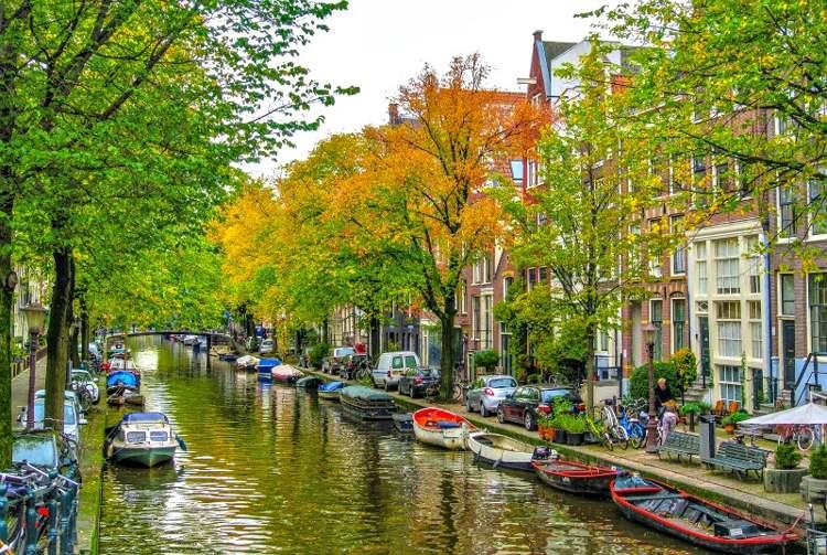 Barrio de Jordaan. Amsterdam