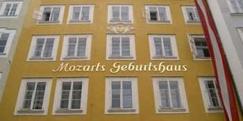 Casa natal de Motzart. Salzburgo