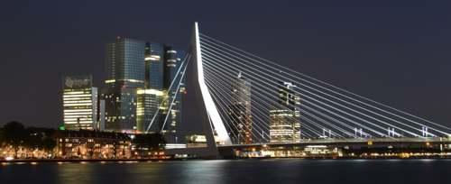 Erasmusbrug. Rotterdam