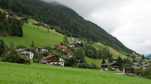 Valle Stubai. Austria