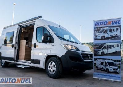 alquiler furgoneta camper en Tarragona Vlow 610 3-4 plazas. Lateral derecho