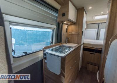 Vlow 610 3-4 plazas. Vista de la cocina