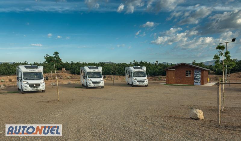autocaravanas autonuel carretera del parque Samà, riudoms