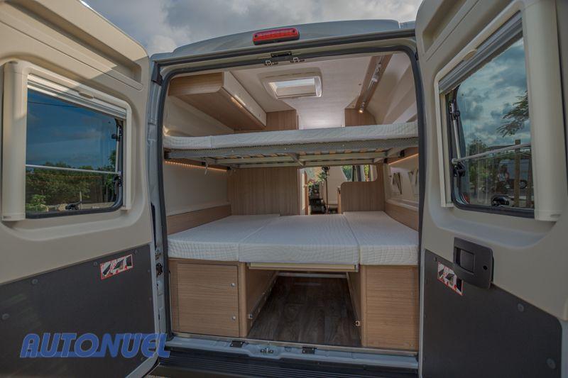 Alquiler de furgonetas camper 3-4 plazas en Tarragona